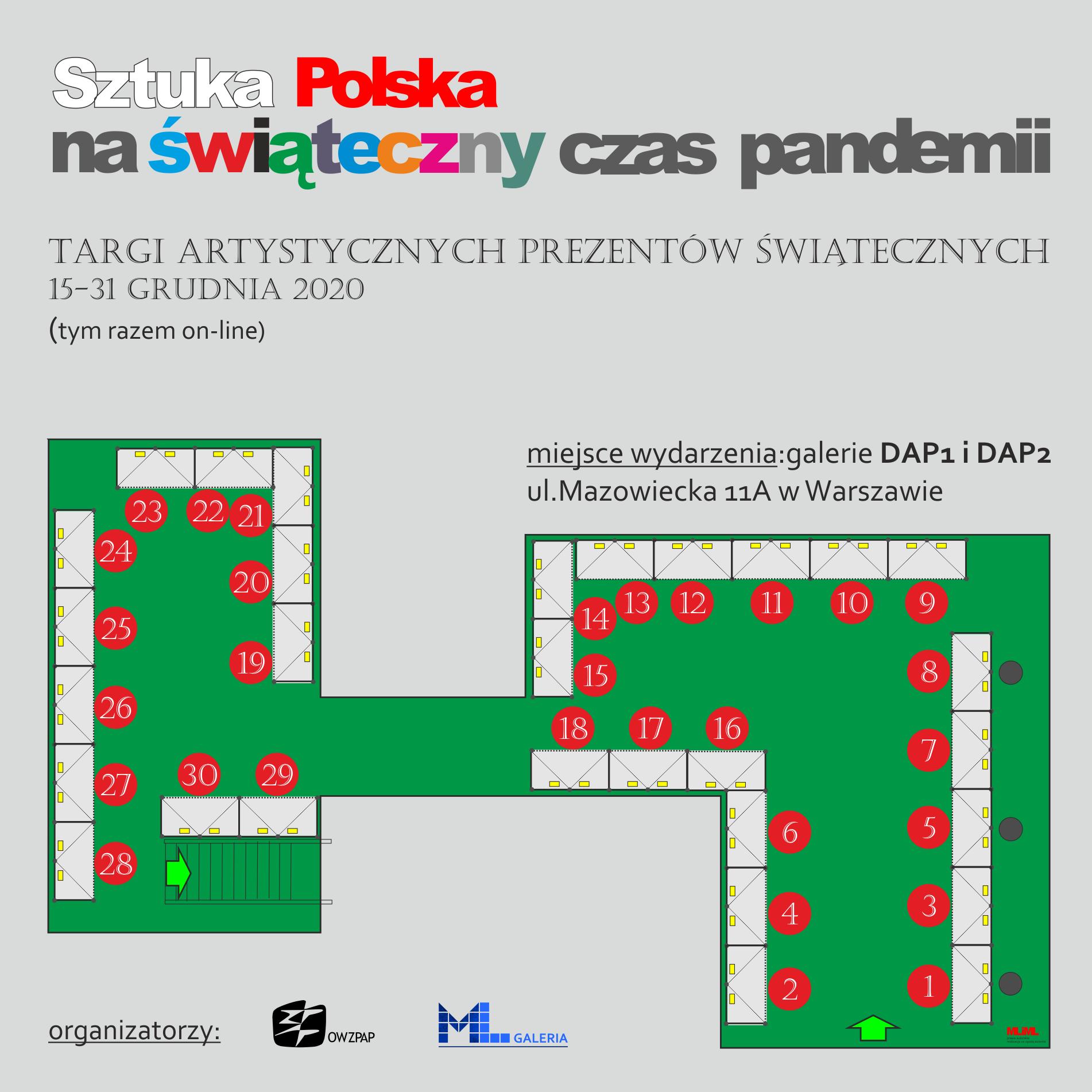 Targi sztuki i rzemiosła artystycznego. Sztuka polska na świąteczny czas pandemii